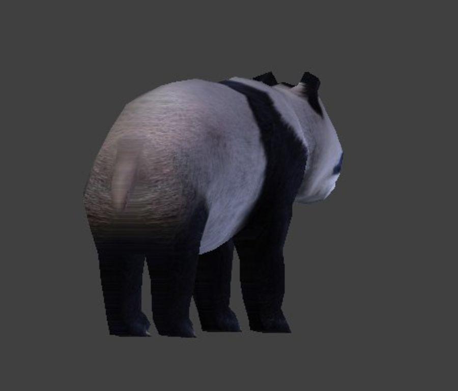 Urso panda royalty-free 3d model - Preview no. 7
