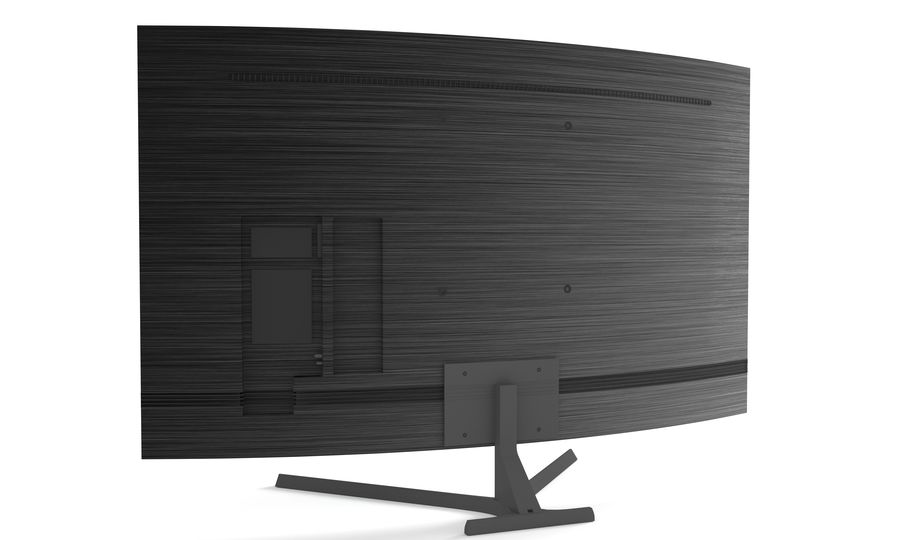 Samsung Led TV royalty-free 3d model - Preview no. 2