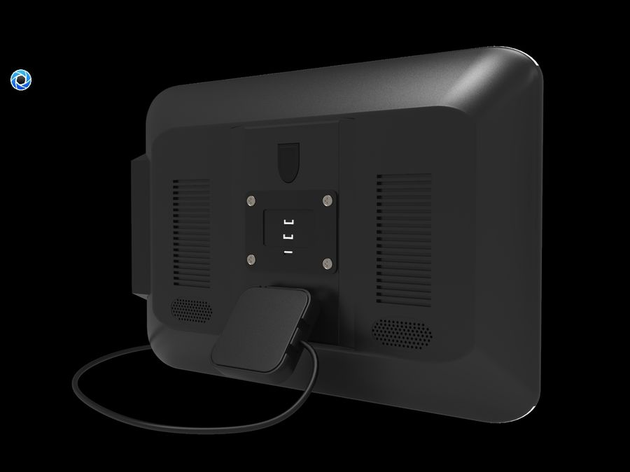 モニター royalty-free 3d model - Preview no. 4
