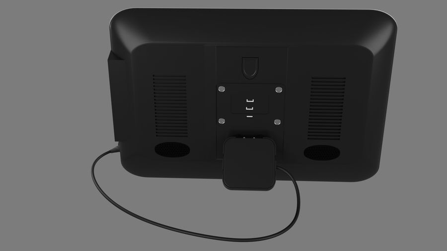 モニター royalty-free 3d model - Preview no. 8