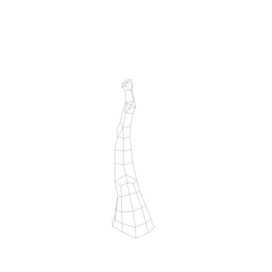 Stades de croissance des arbres Low poly royalty-free 3d model - Preview no. 19