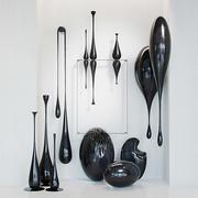 Verzameling loft moderne sculpturen 3d model