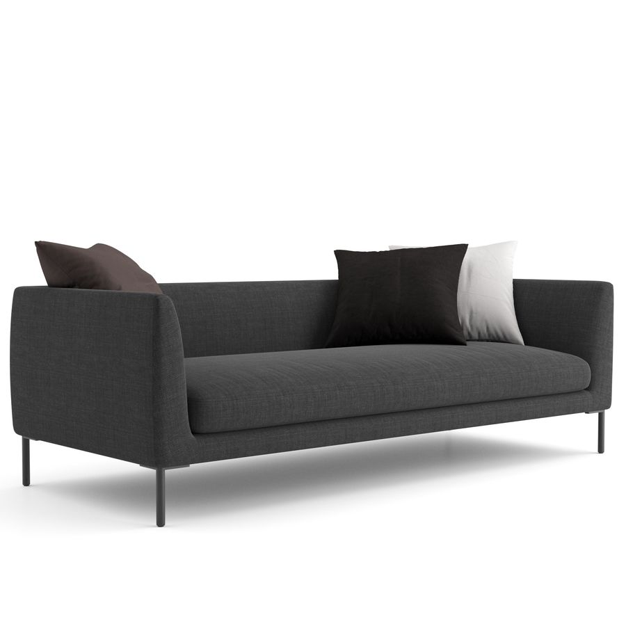 Blade Sofa firmy Wendelbo royalty-free 3d model - Preview no. 4