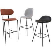 Kolekcja krzeseł i taboretów GUBI 3d model