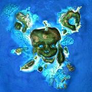 Île pirate 3d model