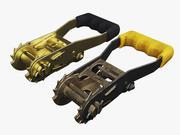 棘轮皮带机制 3d model