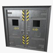 Puertas de seguridad modelo 3d