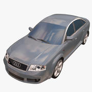 Car Audi sedan 3d model