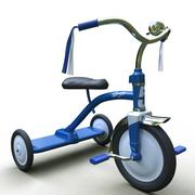 Tricycle Class. 3d model