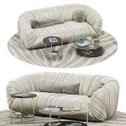 Laurameroni Örtü kanepe, Eko masa 3d model