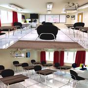 Classroom V2 3d model