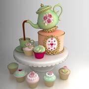 Kuchen Wüste 3d model