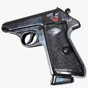 手枪 3d model