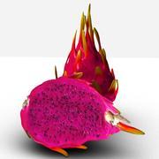 Pink Pitaya 3d model
