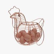 Egg Basket(1) 3d model