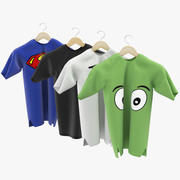shirts 3d model