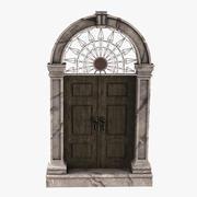 Старая дверь 3d model