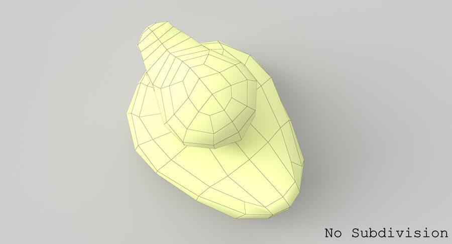 Duck royalty-free 3d model - Preview no. 13