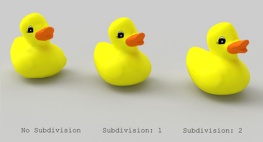 Duck royalty-free 3d model - Preview no. 8