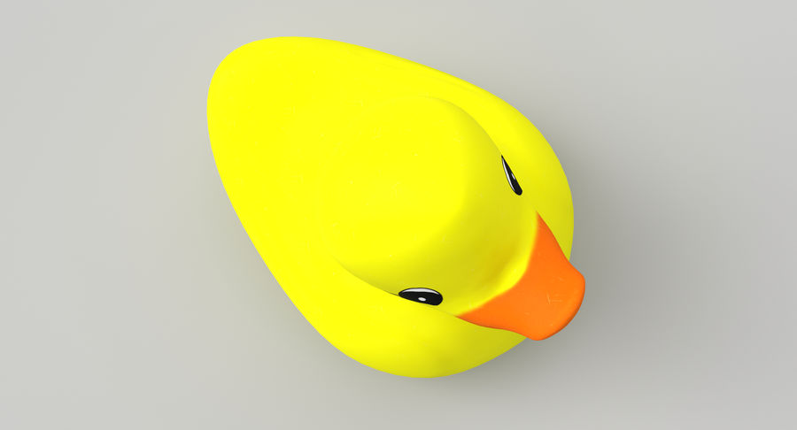 Duck royalty-free 3d model - Preview no. 3