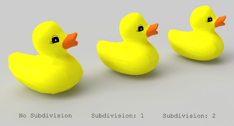 Duck royalty-free 3d model - Preview no. 9