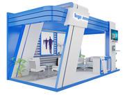 Båsutställningsställ a7 3d model