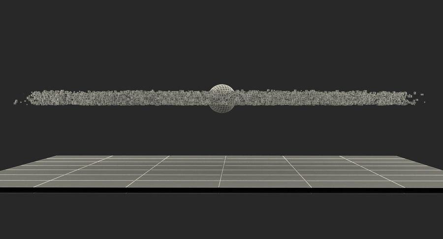 Spiral Hologram 3D Model royalty-free 3d model - Preview no. 19