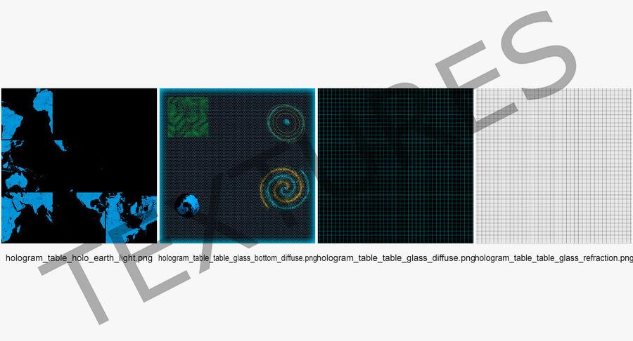 Spiral Hologram 3D Model royalty-free 3d model - Preview no. 13