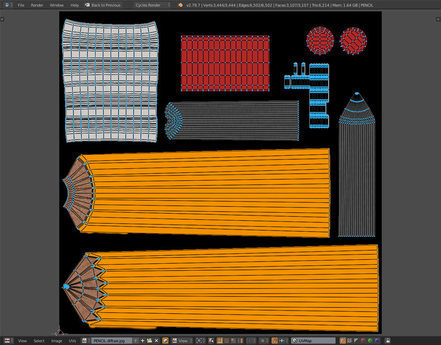 Penna royalty-free 3d model - Preview no. 18