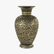 Vaso dourado 3d model
