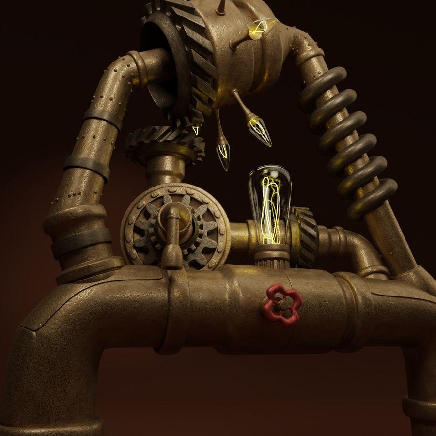 Steampunk A royalty-free 3d model - Preview no. 3