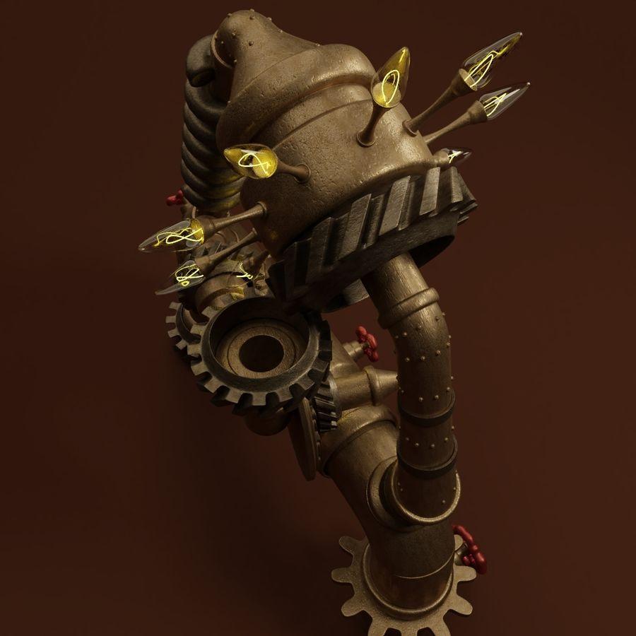 Steampunk A royalty-free 3d model - Preview no. 5