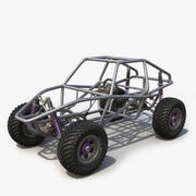 Buggy Chassis 3d model