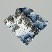Góry terenowe 3d model