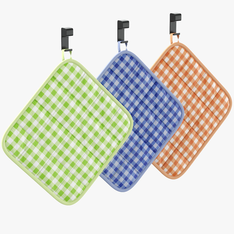 Pot Holder royalty-free 3d model - Preview no. 1