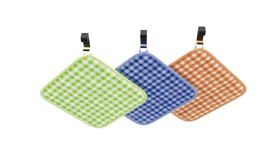 Pot Holder royalty-free 3d model - Preview no. 6