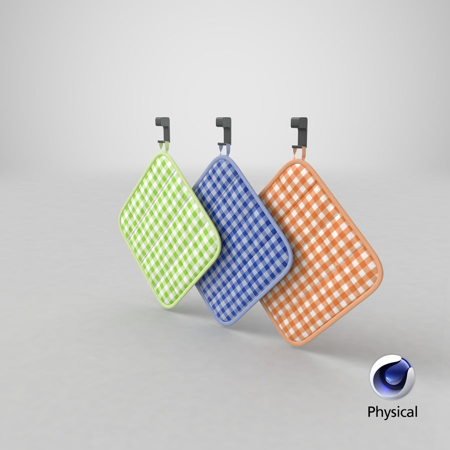 Pot Holder royalty-free 3d model - Preview no. 13