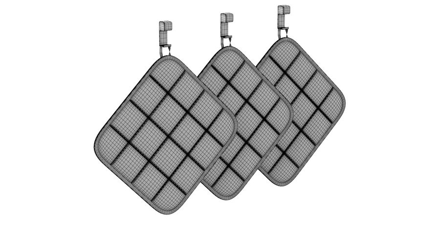 Pot Holder royalty-free 3d model - Preview no. 9