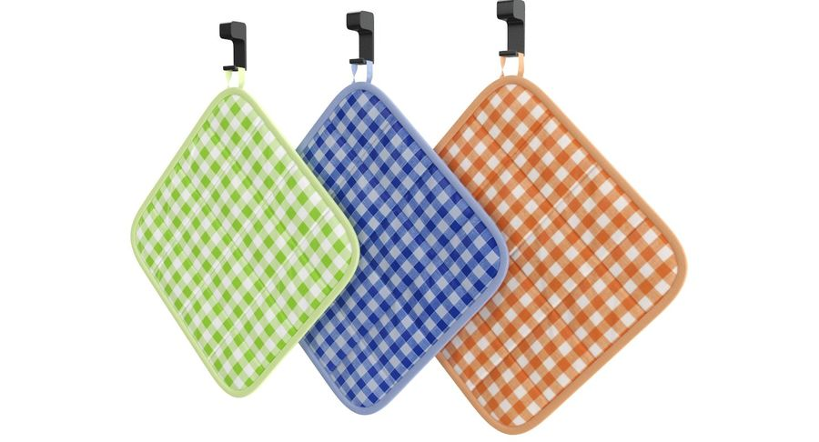 Pot Holder royalty-free 3d model - Preview no. 4