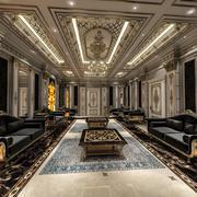 Klasik oturma odası 3d model