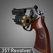 357 Revolver 3d model
