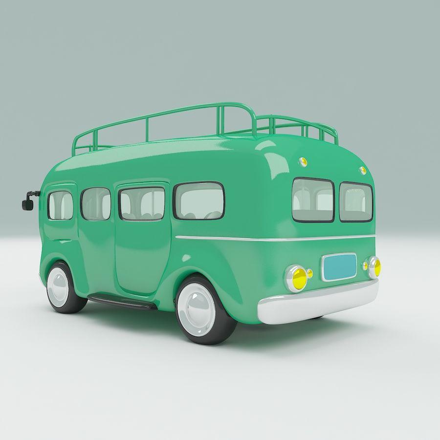 車の漫画 royalty-free 3d model - Preview no. 4