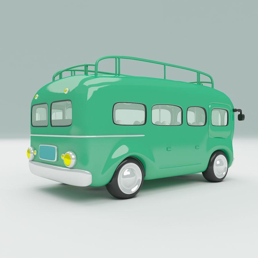 車の漫画 royalty-free 3d model - Preview no. 5