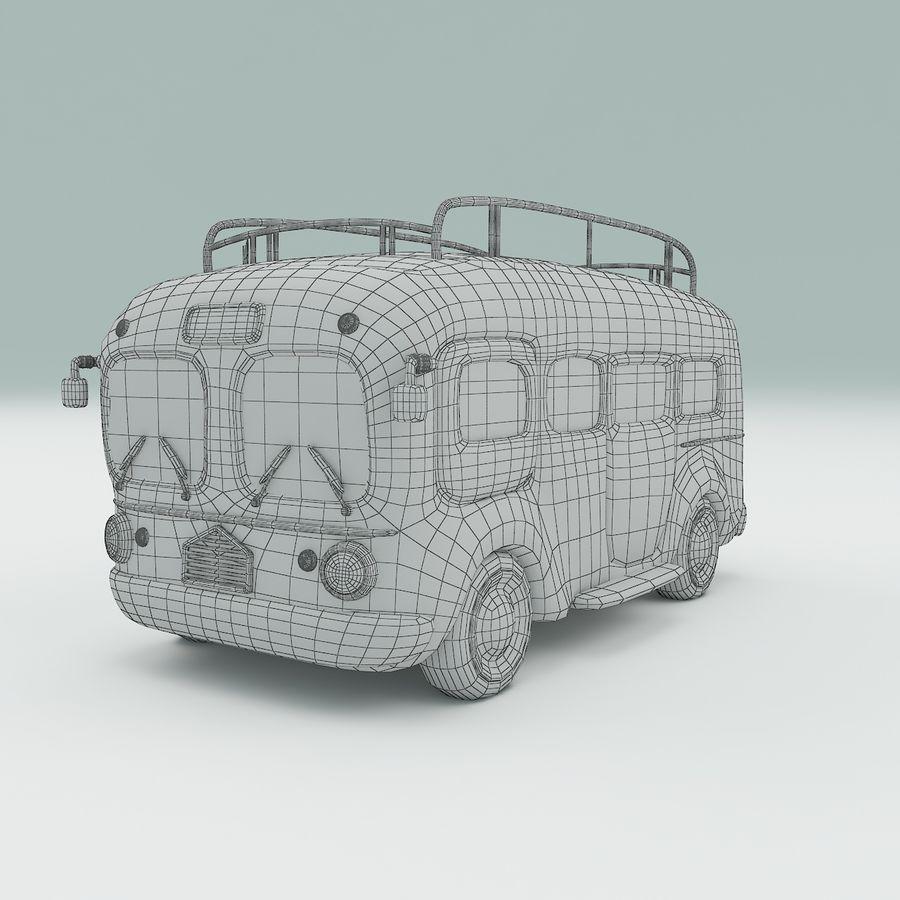 車の漫画 royalty-free 3d model - Preview no. 12