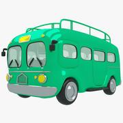Автомобиль мультфильм 3d model
