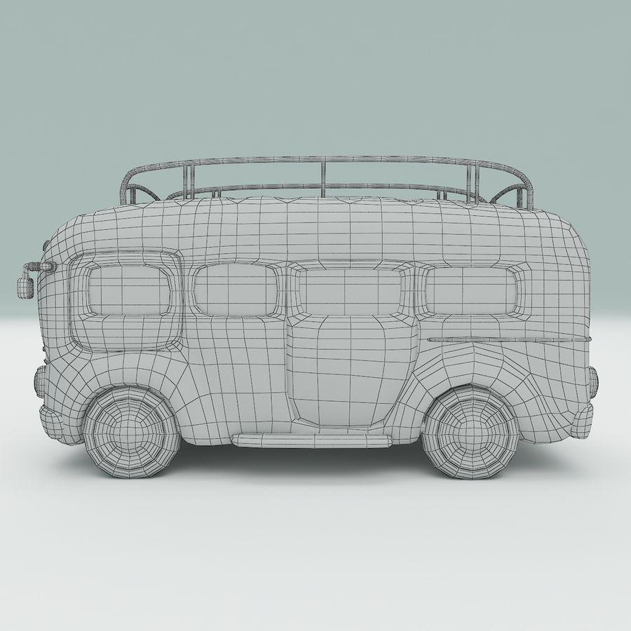 車の漫画 royalty-free 3d model - Preview no. 13
