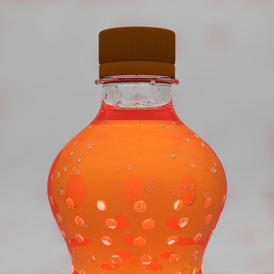 Soda Bottles royalty-free 3d model - Preview no. 8