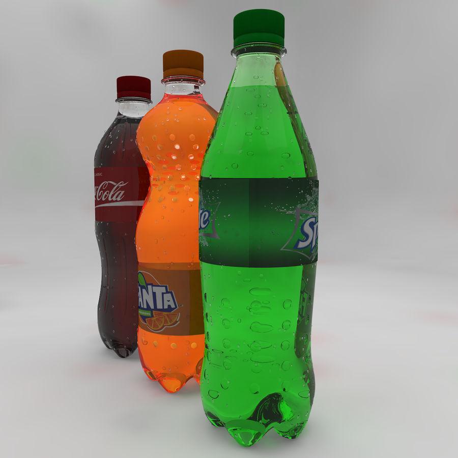 Soda Bottles royalty-free 3d model - Preview no. 4