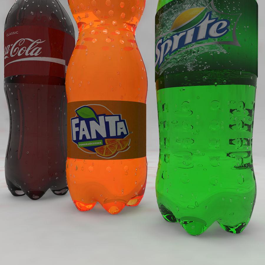 Soda Bottles royalty-free 3d model - Preview no. 11