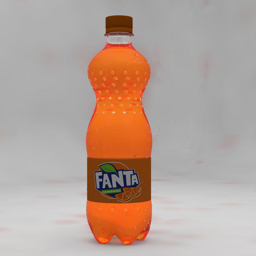 Soda Bottles royalty-free 3d model - Preview no. 7